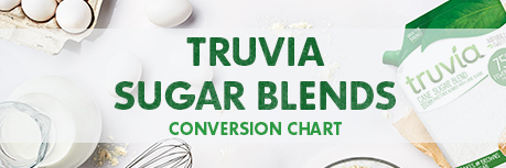 Truvia sugar blends image linking to conversion chart download