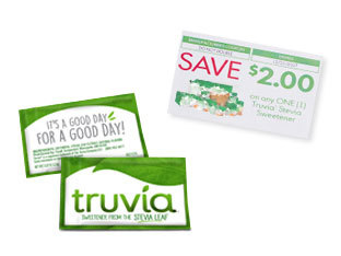 image relating to Truvia Coupon Printable referred to as Free of charge Truvia® Natural and organic Sweetener Pattern