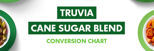 Truv a natural sweetener conversion chart