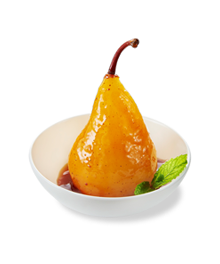 Orange Spiced Poached Pears Results